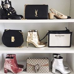 Accessories Unpacked All Set #fashion #style #fashionista #home #closet #accessory #shoe #heel #bootie #gold #pink #silver #handbag #black #gucci #chloe #ysl #chanel #cool #chic #posh #stylish #glam #fun #trend #inspiration #holidays #balenciaga #shoeporn