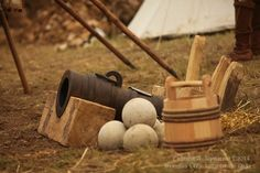 "Artillery. ""Brancion 1475: Battle for the Duke "" Reenactment in Branson, France, 10-14 July 2014. Photo © Eugenia A. Komarova"