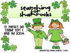 Read and Write the Room is an inviting part of our literacy program. Searching for Shamrocks engages children as they search the classroom for co...