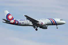 Jordan Aviation Airbus A320-211 JY-JAC on final approach to Paris-Orly, August 2013. (Photo via Flickr: totoro - David D.)