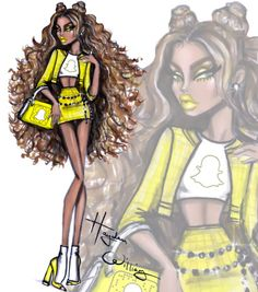 'Social Media Divas' by Hayden Williams: #Snapchat