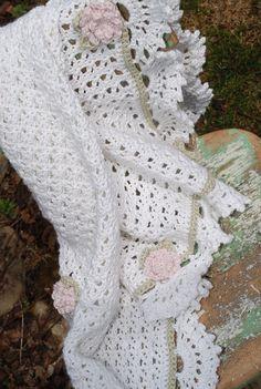 Beautiful+ideas+crochet | Pima Cotton Crochet Baby Blanket | Crochet Ideas