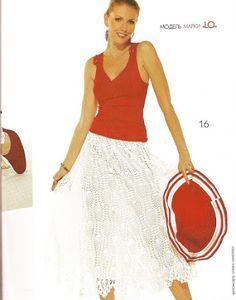 Две ананасовые юбки из ЖМ № 507: