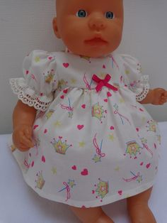 Dolls Clothes, Dress & Panties to fit 36 to 38cm Dolls & My First Baby Annabell £7.25