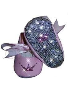 Princess Encrusted Ballet Slippers - Fit for a Princess indeed... <3