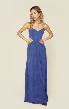 Maxi Cut-Out Dress