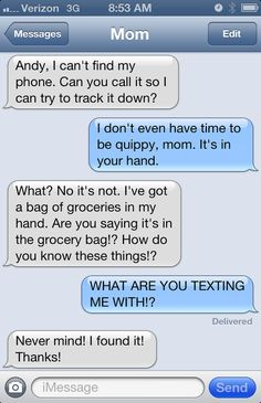 "23 Mom Texts That Make You Go ""MAAAHM!"""