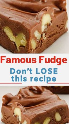 Candy Recipes, Sweet Recipes, Cookie Recipes, Holiday Recipes, Yummy Recipes, Homemade Fudge, Homemade Candies, Homemade Chocolate, Homeade Candy