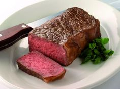 New York Strip Steak By Executive Chef Alan Wong of Morton's of Chicago: The Steakhouse