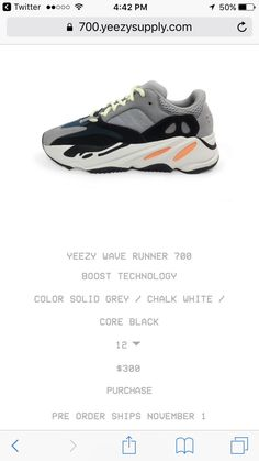 e584474a5 Any thoughts on the Yeezy Wave Runner