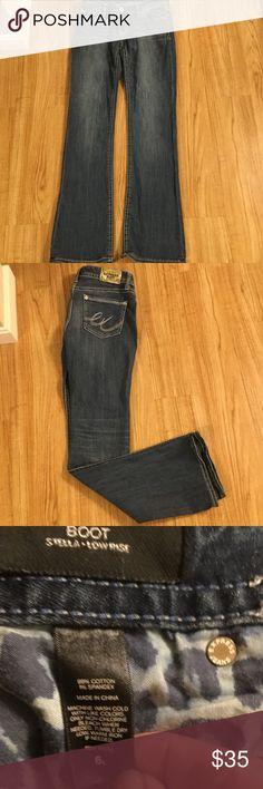 Express jeans Express jeans ...Stella boot cut low rise size 6 long Express Jeans Boot Cut