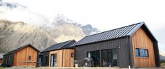 Cedar and Black Cladding House Exterior Open Plan Home Design Evolution Homes Eco Home