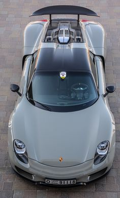 "The $900k plus Porsche 918 Spyder, ""hybrid"" with amazing performance and a range of 12 miles in electric only mode..."