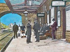 Disused Stations: Thongs Bridge Station Altrincham, Disused Stations, Barnsley, Train Journey, Abandoned Buildings, Bridge, Street View, Thongs, World