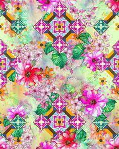 Poesia Floral l Estampa Digital on Behance