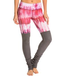 Alo Goddess Printed Ribbed Legging at YogaOutlet.com - The Web's most popular yoga shop