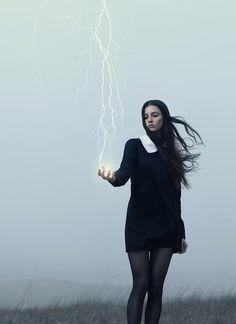 In the Wake of Thunder: Surreal New Series by Alex Stoddard. The lightning!