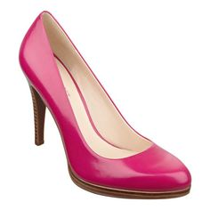 """Classic pump with 4"""" heel on a 1/2"""" platform. An updated version of the style Rocha, this style is available exclusively @ Nine West Stores & ninewest.com."""