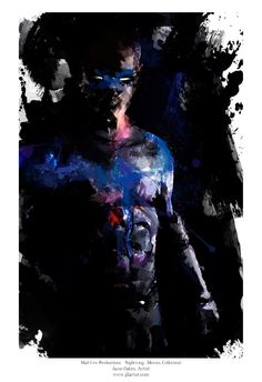 """Nightwing by Jason Oakes Archival Quality Art Print, 13""""x19""""    **EXPRESS SHIPPING AVAILABLE** on Etsy, $15.00"""