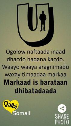 waayo aragnimadu waxay timaadaa markaad is barataan dhibaatada