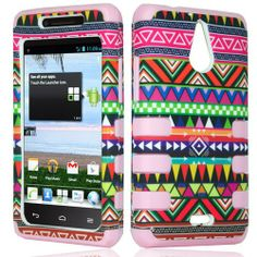 Find a must - have #Huawei #Ascend #Plus #H881C #Protector #Skin #Cover - Hybrid RibCase Tribal/ Light Pink Total Defense at a huge discount price! Let make your phone more unique and cooler at @Acetag! Hurry up my friend, come and get new clothes for your phone!!! $11.99