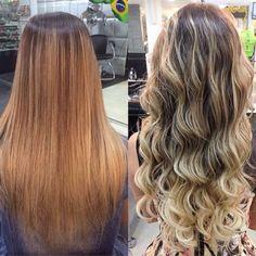Cabelo tonalizado por @erikarodrigues e aplicado hotheads por Goreth Muniz, resultando num trabalho impecável! #hotheads #hair #beauty #beautifull #transformação #mulhercheirosa @mulher_cheirosa