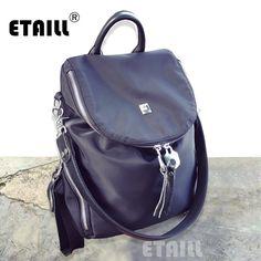 Stylish Luxury Women Backpack for Teenager Girls Mochilas Feminina Nylon Waterproof Female Travel Bagpack Schoolbag Sac A Dos
