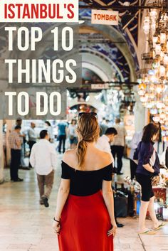 10 cool things to do when you are visiting the incredible city of Istanbul in Turkey!