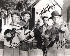 The Dillards, aka The Darlins, The Andy Griffith Show