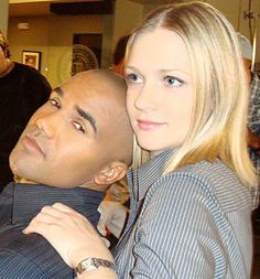 SHEMAR with A.J. Cook
