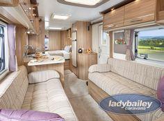 New Bailey Unicorn 3 Cartagena DISCOUNTED at Lady Bailey Caravans
