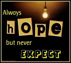 NEVER Expect ~