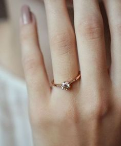 ANNA SHEFFIELD champagne gold ring; so absolutely stunning. perfect. perfect color, size, everything.