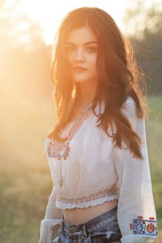 Lucy Hale singer, actress, designs bracelets for charity, is part of anti-bullying campagnes and other projects