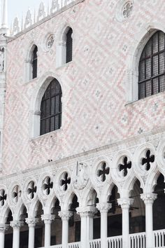 Palazzo Ducale, Venice, Italy   IG: @hauteatheart Venice Italy, Looking Up, Palazzo, Facade, Around The Worlds, Building, Outdoor, Beautiful, Outdoors