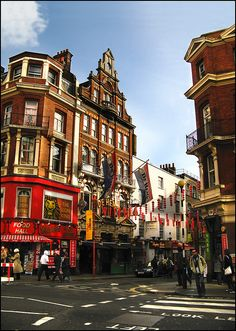 Soho, London.  I used to work there as a student.
