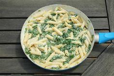 Spenótos tészta - Kemény Tojás receptek képekkel