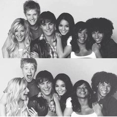 Ashley Tisdale, Lucas Grabeel, Zac Efron, Vanessa Hudgens, Monique Coleman, and Corbin Bleu from HIGH SCHOOL MUSICAL! #HighSchoolMusical #HighSchoolMusical2 #HighSchoolMusical3