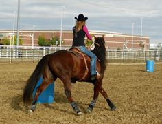 Better circles lead to faster turns - stop the clock sooner and get on the fast track to barrel racing success! Barrel Racing Exercises, Barrel Racing Tips, Horse Exercises, Barrel Racing Horses, Barrel Horse, Horse Riding Tips, Horse Tips, My Horse, Horse Love