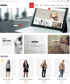 28 More of the Best Minimal Magento Themes