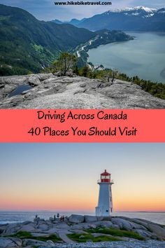 Driving Across Canada: 40 Places You Shouldn't Miss – Hike Bike Travel – Best Travel Destinations Places To Travel, Travel Destinations, Places To Go, Vacation Travel, Vacations, Cruise Travel, Vacation Places, Travel Goals, Time Travel