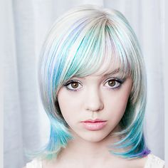 Pretty pastel colored hair from Lisa Power Salon, Seattle. Colored Hair, Pretty Pastel, Great Hair, Seattle, Salons, Lisa, Hair Color, Lounges, Haircolor