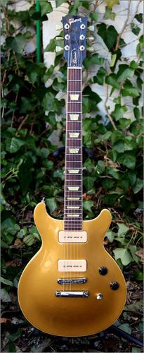 Gibson Les Paul Classic Double Cutaway Gold Top P90S Electric Guitar Case