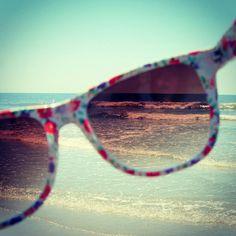 The world through cute sunglasses.