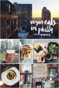 Vegan Eats in Philly and many other cities around the world! Designer food for the hungry creator.
