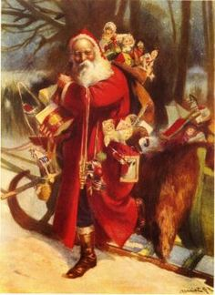 Victorian Father Christmas | father-christmas-posters