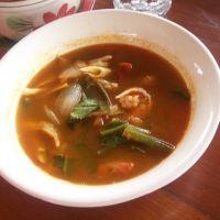 Authentic Thai Tom Yam Soup Recipe(more here: http://www.desiam.com/tomyam.html)