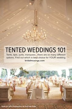 Wedding Receptions The ultimate guide to having a tent wedding by Bridal Musings - Not all tents are created equal, with yurts, katas, tipis and tents, we've come up with top tips in our ultimate guide to wedding marquees Bridal Musings, Wedding Tips, Our Wedding, Dream Wedding, Trendy Wedding, Wedding Table, Wedding Vintage, Elegant Wedding, Wedding Stuff