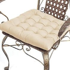 Dining-Kitchen-Garden-Chair-Cushion-Seat-Pads-Home-Decoration-Beige