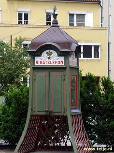 Phone Booth In Sweden